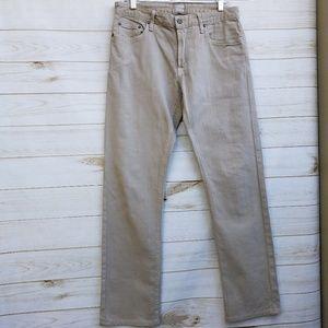 Bonobos Travel jeans slim straight 33/31 khaki